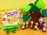 Resource Library: Five Little Monkeys Sitting in a Tree