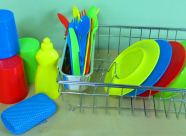Resource Library: Wash and Dry Dish Set